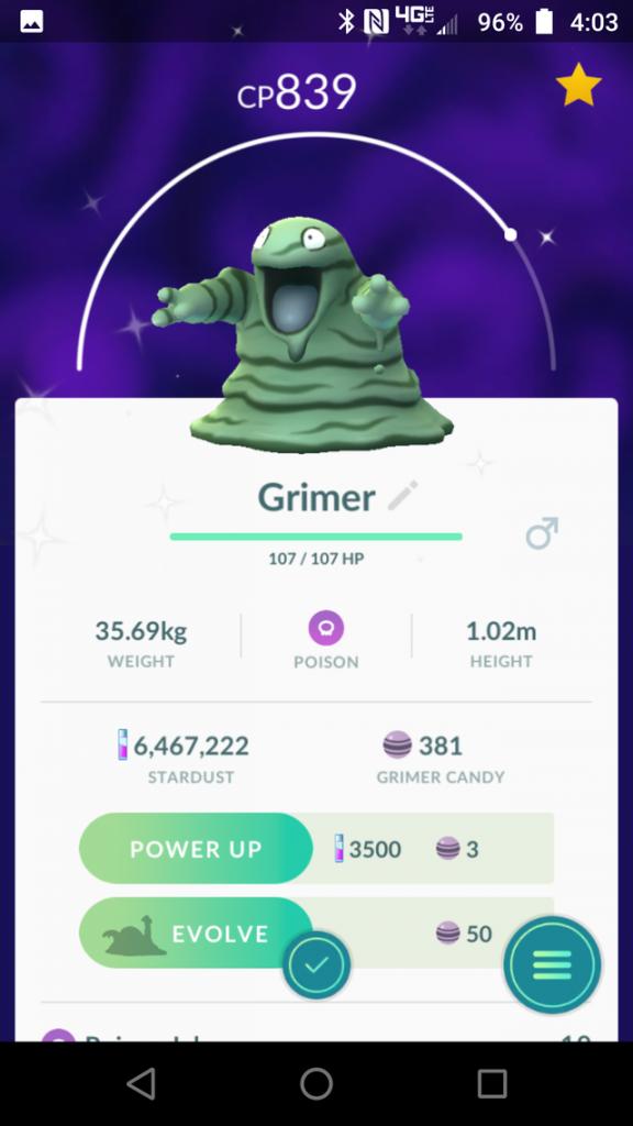 Pokémon GO Shiny Sleima