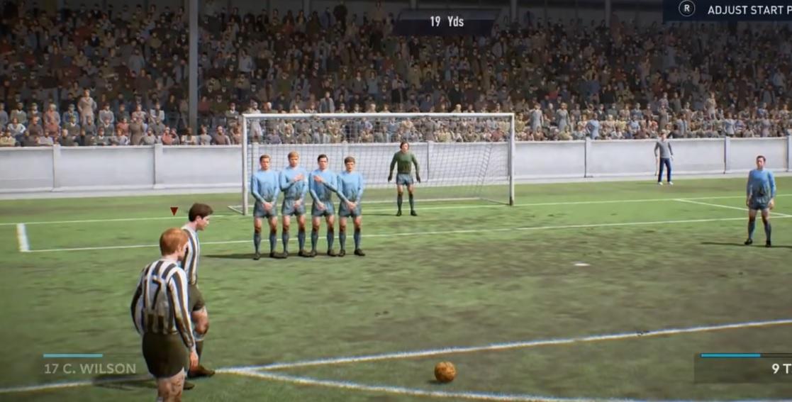 In FIFA 19 könnt Ihr Fußball spielen wie vor 60 Jahren