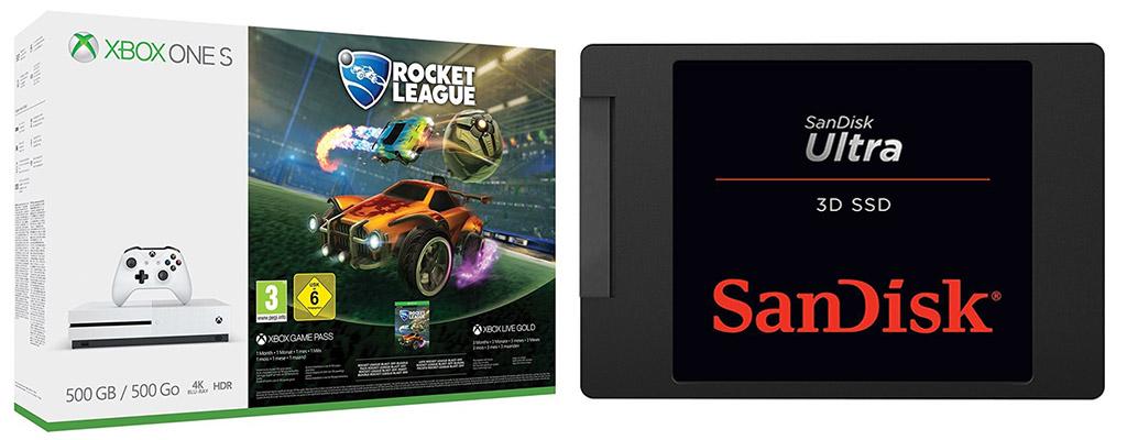 Die besten Deals des Tages: Xbox One S für 169€ und SanDisk 1 TB SSD für 140€