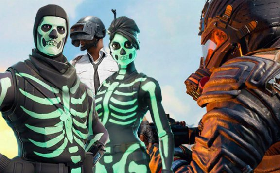 Black Ops 4 Fortnite PUBG Titel