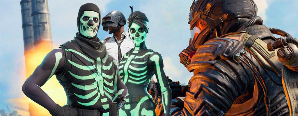 Fortnite vs Black Ops 4 Blackout vs PUBG  – Das sind die Unterschiede