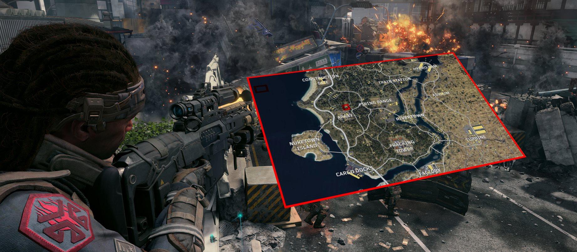 Diese 14 Multiplayer-Maps gibt's zum Start von CoD: Black Ops 4