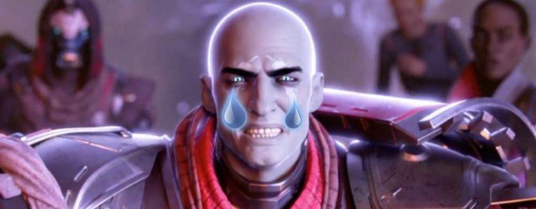Destiny 2 Zavala not amused