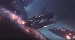 EVE Project Nova Trailer Drop Pod auf Schaiff