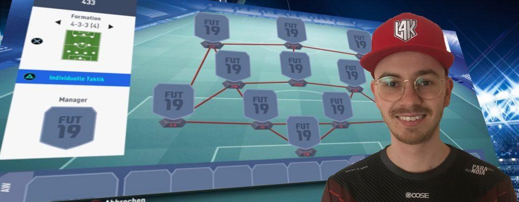 FIFA 19: Die 3 besten Formationen vom Profi empfohlen