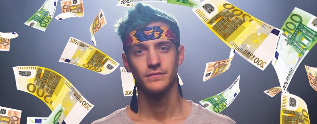 Twitch-Star Ninja verrät, wie viel Geld er 2018 mit Fortnite verdient hat