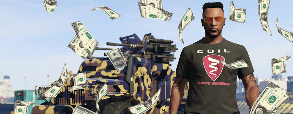 """GTA Online: Beeilt euch – letzte Chance für das erste """"1 Million Dollar""""-Geschenk"""