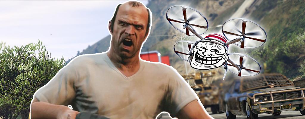Genervte Spieler rächen sich in GTA 5 Online mit Drohnen an Tryhards