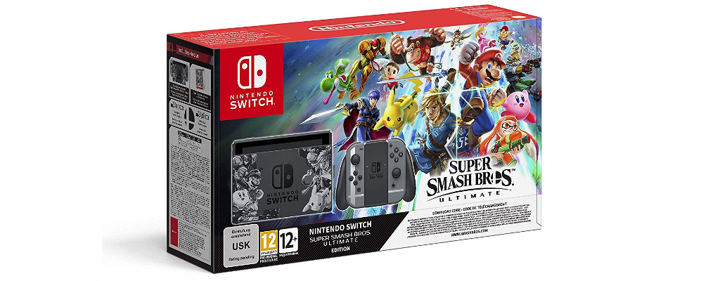 Super Smash Bros. Ultimate & Switch im Bundle vorbestellbar