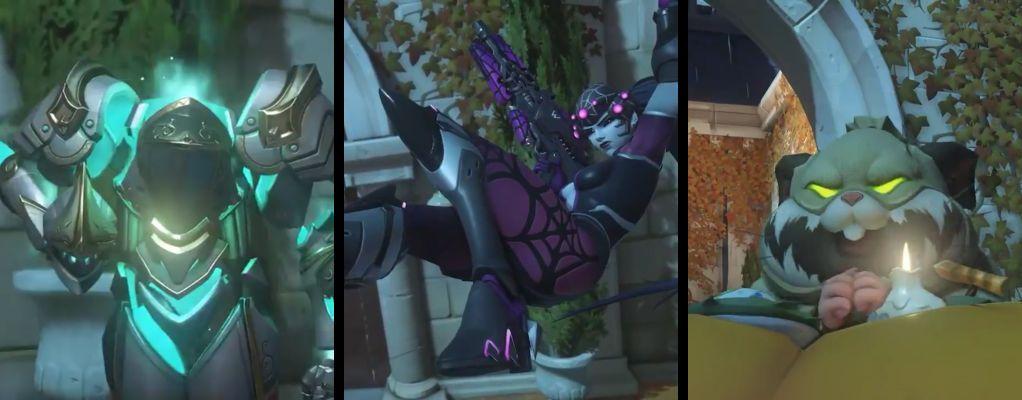 Seht, wie gruselig die Overwatch-Heldin Pharah ohne Kopf aussieht