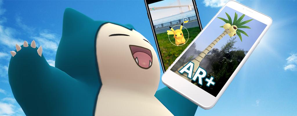 So nutzt Ihr AR+ auf Android-Geräten in Pokémon GO