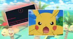 Pokémon GO Cheat Warnung Titelk
