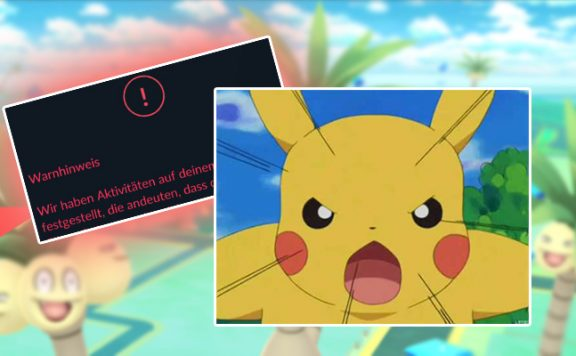 Pokémon GO Cheat Warnung Titelk