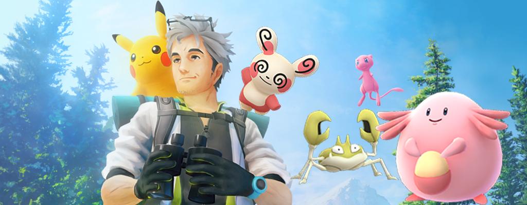 Pokémon GO: Feldforschungen bringen neues Pandir und Shiny