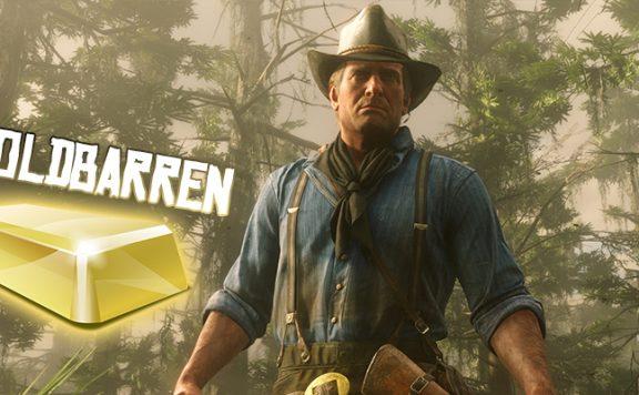 Red Dead Redemption 2 Goldbarren Titel
