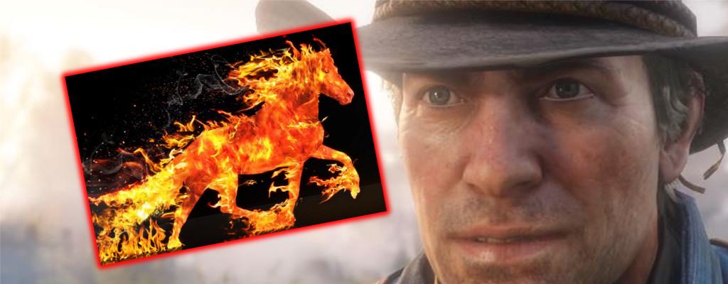 In Red Dead Online berichten Cowboys: Ich kann Berge toter Pferde sehen