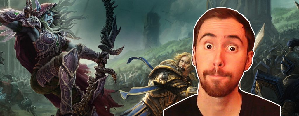 WoW Battle for Azeroth Asmongold title
