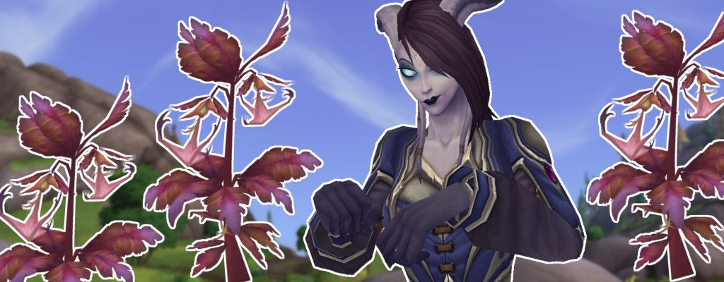 WoW Draenei Anchor Weed title