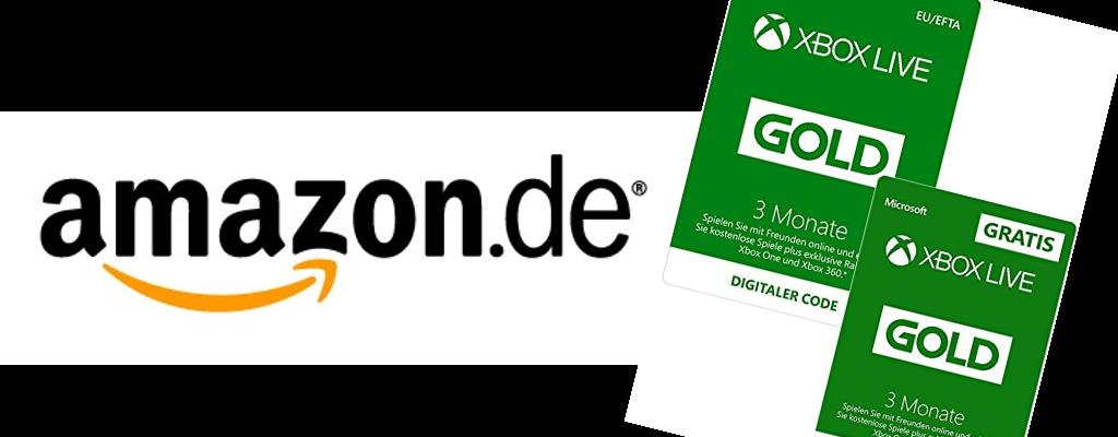Amazon-Schnäppchen: 6 Monate Xbox Live zum Preis von 3