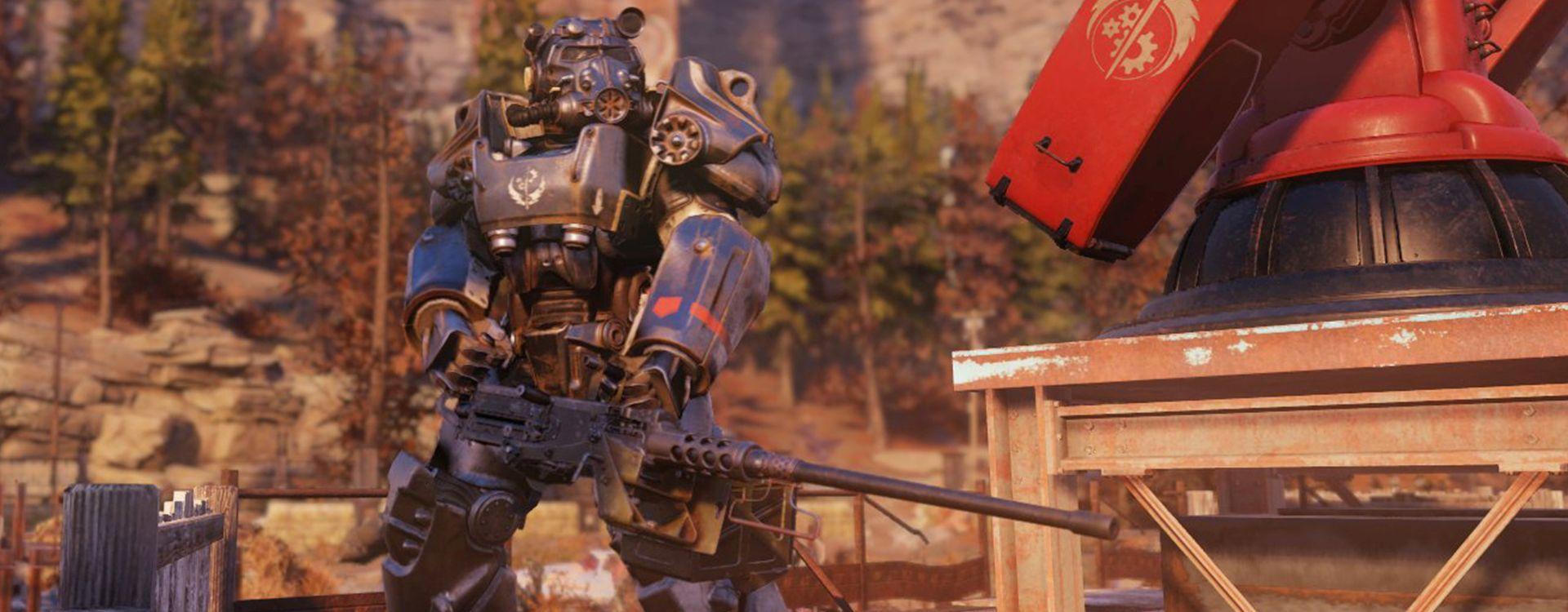 Fallout 76: So findet Ihr die Stählerne Bruderschaft und andere Fraktionen