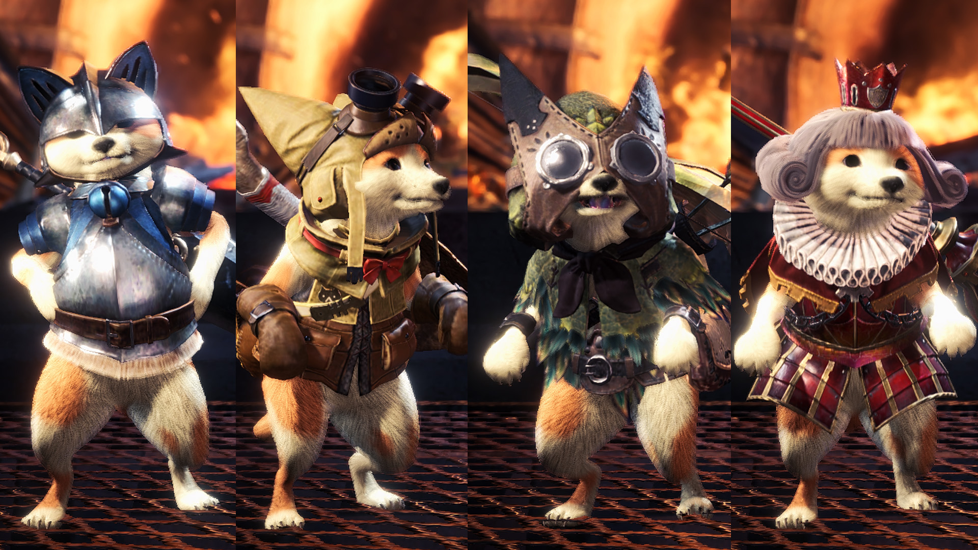 Monster Hunter World: Diese Mod verwandelt Katzen-Begleiter in Hunde