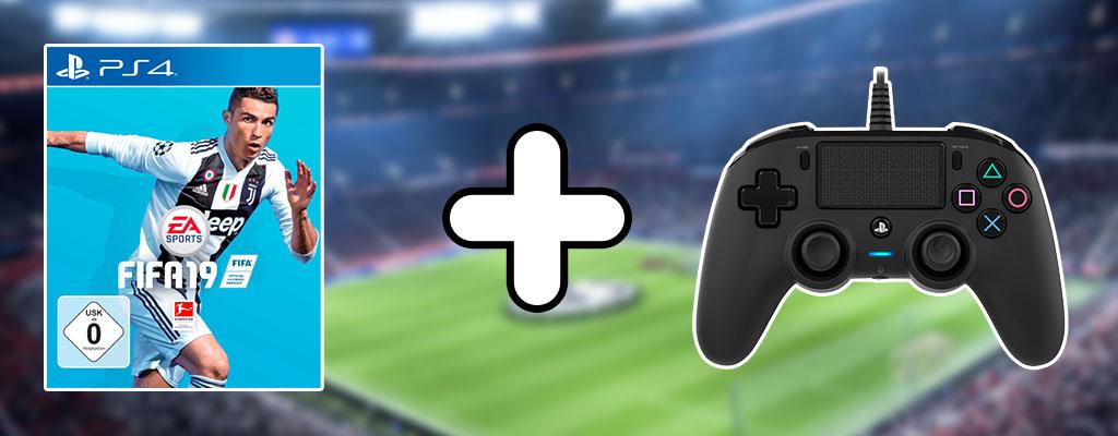 MediaMarkt Prospekt: FIFA 19 im Bundle mit NACON-Controller für 69 Euro