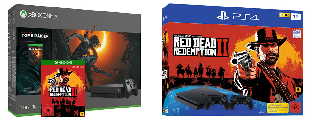 Red Dead Redemption 2 im Bundle mit der Xbox One oder PS4