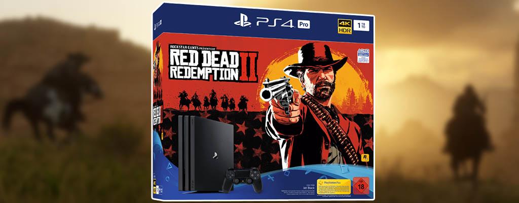 Red Dead Redemption 2 PS4-Bundle im MediaMarkt Prospekt
