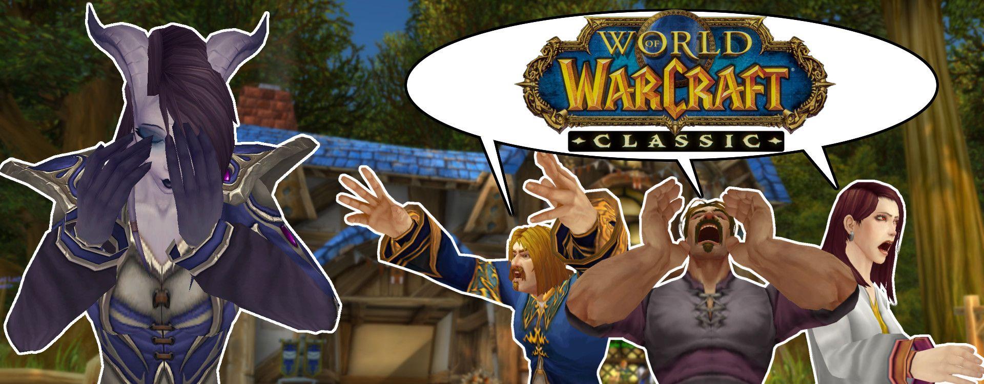 1. Reaktion von Blizzard zum Wunsch nach deutschen Servern für WoW Classic ist da