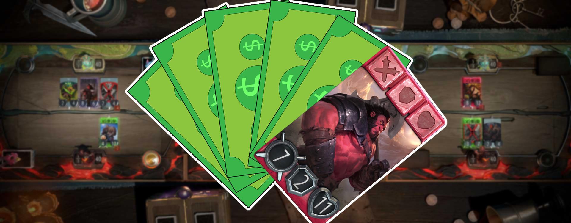 Wer vor 6 Monaten 300€ in Artifact-Karten investiert hat, besitzt jetzt Karten im Wert von 40$