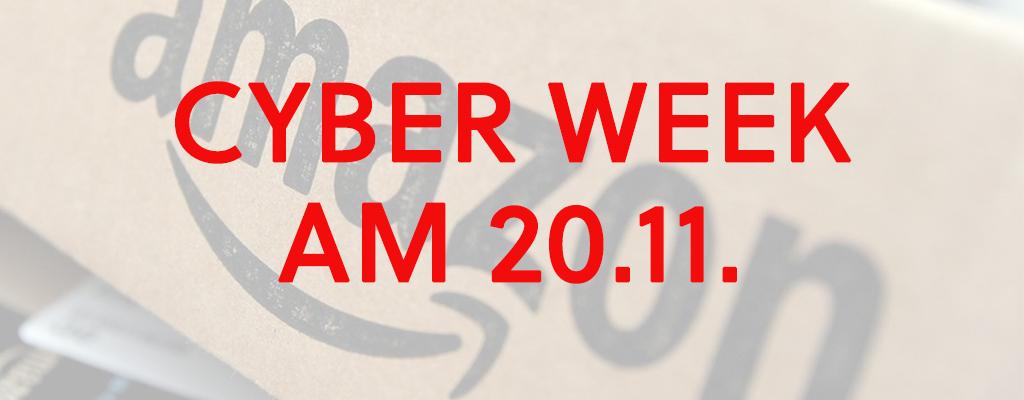 Die besten Angebote zur Cyber Monday Week am 20.11.