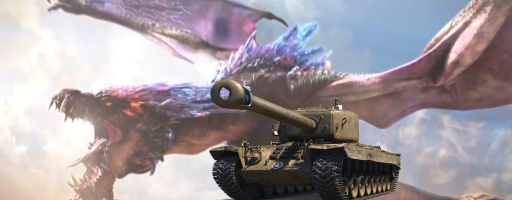 So sieht es aus, wenn man World of Tanks mit Monster Hunter kreuzt