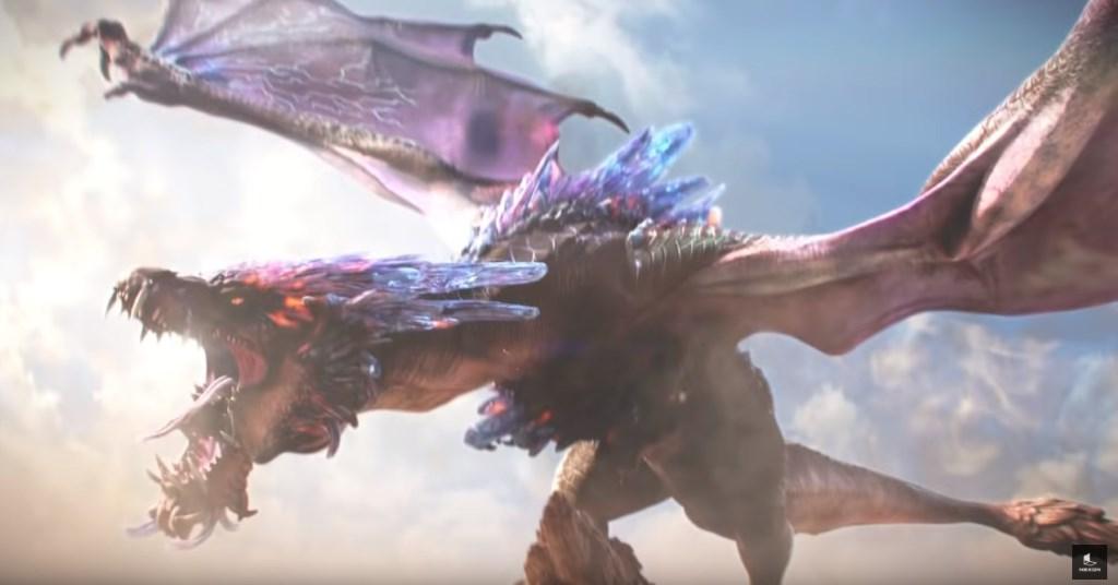 Neues MMORPG Dragon Hound will Monster Hunter World angreifen