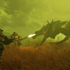 Fallout 76 Powerrüstungen bekämpfen Brandbestie