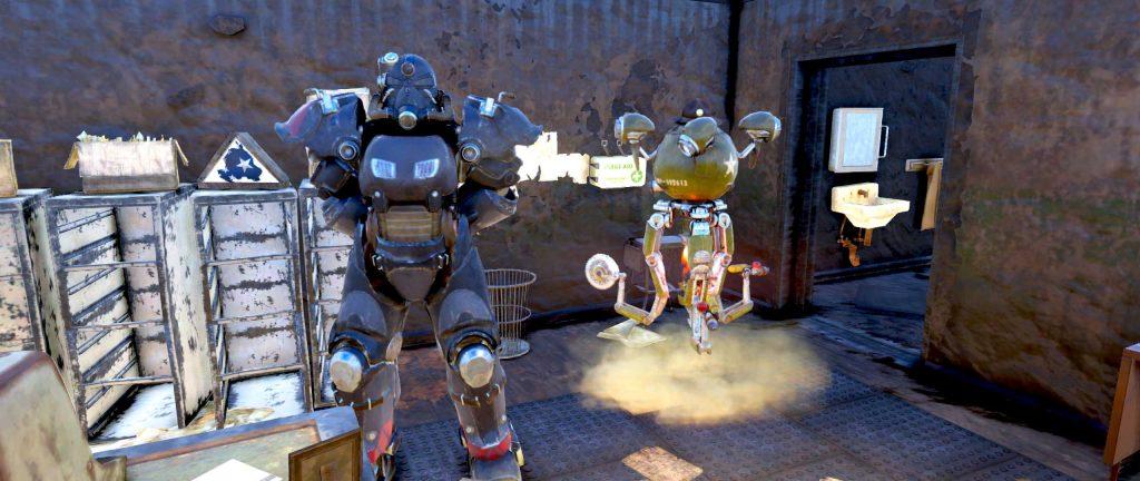 Fallout 76 Abschluss in Camp McClintock Soldat
