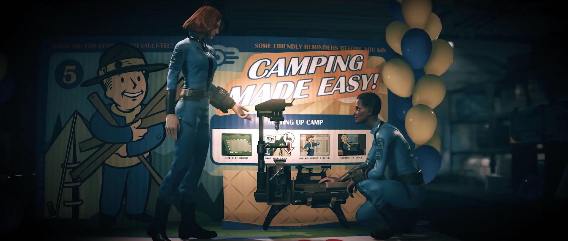 Fallout 76: So könnt Ihr Euer Camp einpacken und mitnehmen