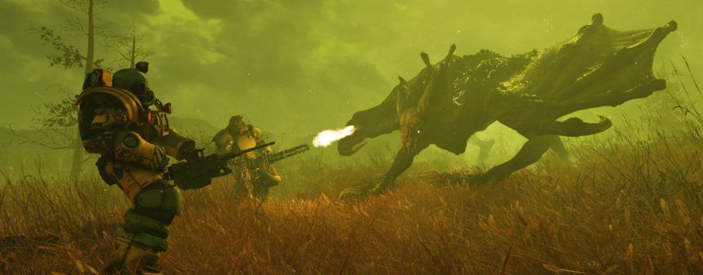 Fallout 76: Spieler mischt Perks und Mutationen, kann fliegen