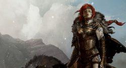 Guild Wars 2 title Woman Redhead