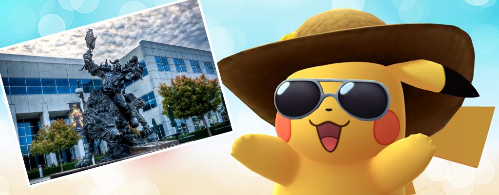 Sogar Blizzard steht auf Pokémon GO, hat Orc-Arena vor der Firma