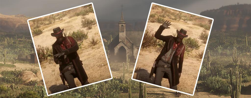 RDR 2: So benutzt und ändert Ihr Emotes in Red Dead Online