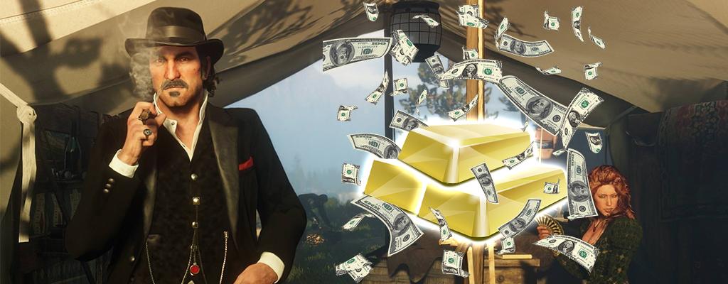 So verdient Ihr das schnelle Geld in Red Dead Online