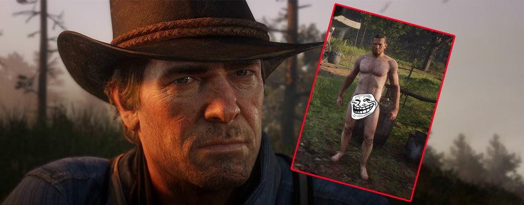Nackt-Mod für Red Dead Redemption 2 ist verstörend