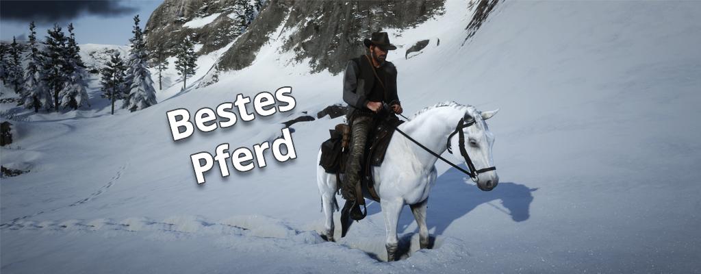 Red Dead Redemption 2: So leicht gibt's das beste wilde Pferd