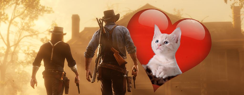 RDR 2: Fans fordern mit Petition mehr Liebe für Katzen