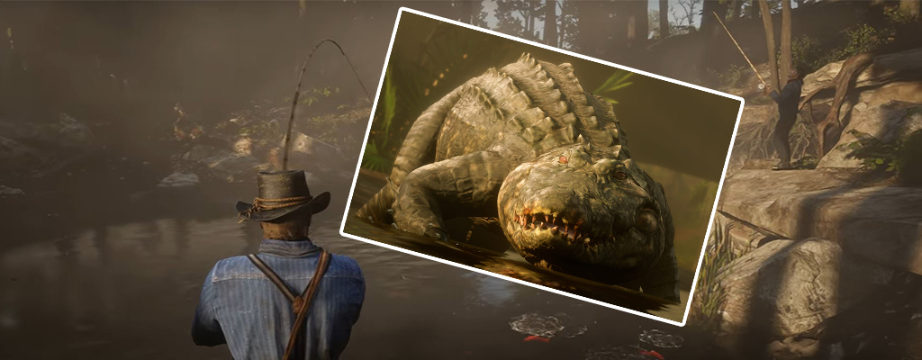 Red Dead Redemption 2: Fangt hier den legendären Alligator