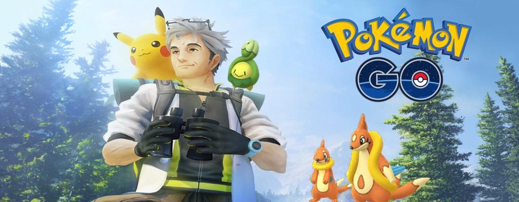 In Pokémon GO findet Ihr jetzt diese 3 neuen Monster der 4. Generation