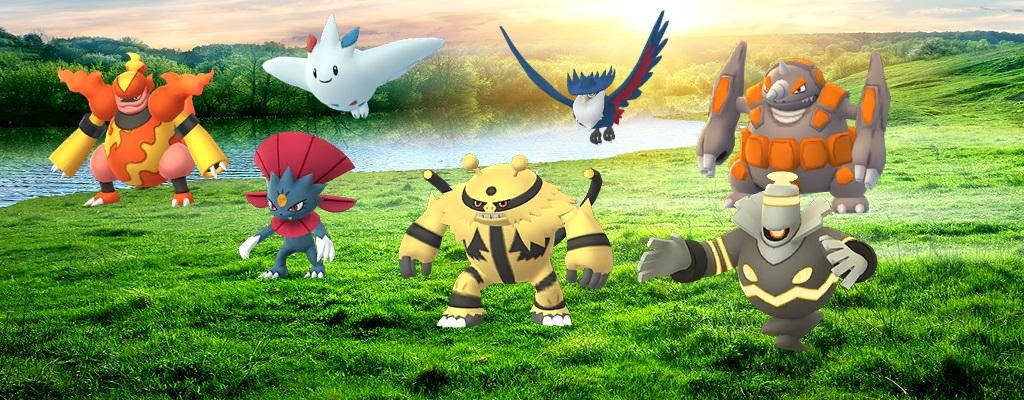 Pokémon GO: Sinnoh-Stein und neue Entwicklungen aus Generation 4 sind da