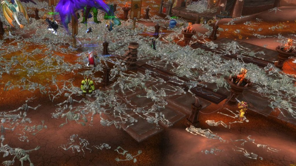 WoW Corrupted Blood Hakkar incident