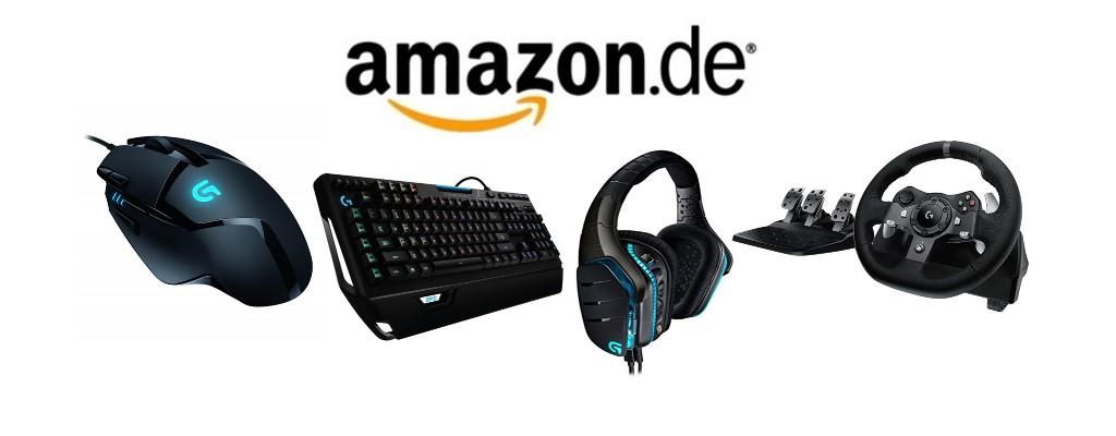 Amazon: Maus, Tastatur & weiteres Gaming-Zubehör von Logitech reduziert