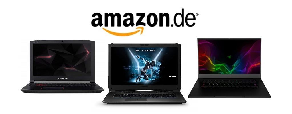 Amazon Cyber Week: Diese reduzierten Gaming-Notebooks lohnen sich